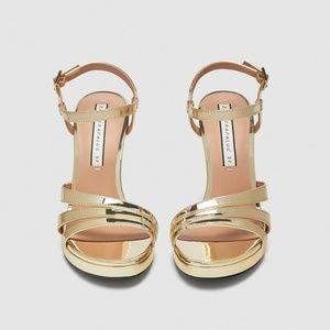 Sandal heel strips